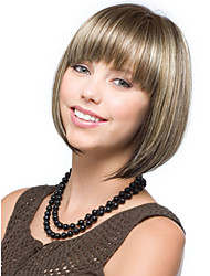 Top Quality Multi-Color Straight Synthetic Wigs