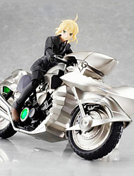 Fate/stay night Saber 10CM Anime Action Figures Model Toys Doll Toy (Only Motorcycle)
