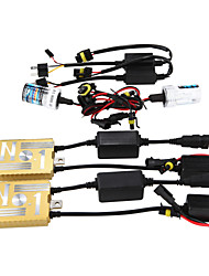 12V55W HID Ballast Decoding Headlight Conversion Kit Bulb H7 3000K 4300K 5000K 6000K 8000K