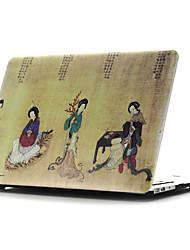 concha plana dibujo ~ 2 estilo de color para el aire del macbook de 11 '' / 13 ''