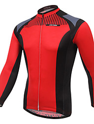 XINTOWN Men's Outdoor Long Sleeve Long Wear Cycling Jersey Bike Jersey for Mountain Bike
