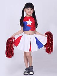 Accesorios(Multicolor,Algodón / Poliéster,Vestidos de Cheerleader) -Vestidos de Cheerleader- paraNiños Drapeado Representación