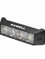 "KAWELL® 12W 5.5"" 30 Degree LED for ATV/Jeep/Boat/Suv/Truck/Car/Atvs Light Off Road Waterproof Black Led Work Spot Light"