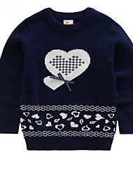 Girl's Sweater & Cardigan,Cotton Spring / Fall Blue