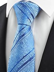 Gravata(Azul,Poliéster)Listrado