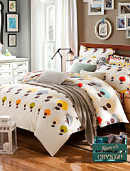 Brief bedding 100% Cotton Bedclothes 4pcs Bedding Set Queen Size Duvet Cover Set