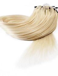 neitsi® 20inch micro anneau boucles extensions de cheveux humains sonne cheveux humains 613 #