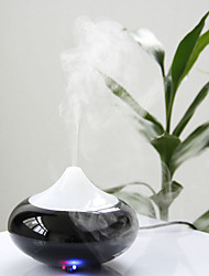 LED Air Humidifier Oil Aroma Lonizer Vaporiser Diffuser Purifier Steam Mist