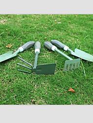 4-piece Green Iron Garden Tool Set