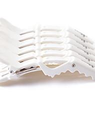neitsi® blanc croc en plastique de couleur clips de style clips antidérapantes de cheveux