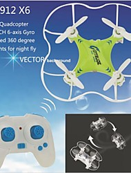 Others M9912 Drone 6 Axes 4 Canaux 2.4G Quadrirotor RC Vol Rotatif De 360 Degrés