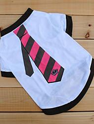 Creative Comfortable Tie Pattern Pet T-shirt