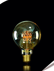 E27 60W G95 Bulb Edison Incandescent Light Bulbs Pearl