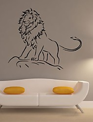 Lion Sticker Wall Stickerwall Art Vinyl Stickers European Style Art Home Decorationvinyl Wall Quote For Home Decor
