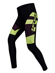 WOSAWE Cycling Pants Unisex Bike Pants/Trousers/Overtrousers Padded Shorts/Chamois Tights BottomsBreathable Quick Dry Wearable