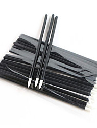 jetables 100pcs de pinceau eyeliner / pack eyeliner outils de maquillage applicateur
