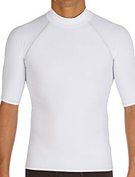 Others Men's Tops / Rash guard / Wetsuit Skin Diving Suit Ultraviolet Resistant / Thermal / Warm Dive Skins 3 to 3.4 mmWhite / Black /