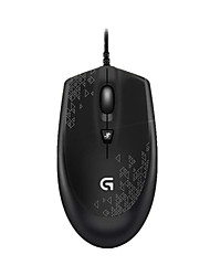 Original Logitech G90 3D Mini USB Optical Wired Gaming Mouse with 1000/1750/2500 DPI for PC Laptop Desktop
