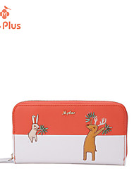 M.Plus® Women's Fashion Character PU Leather Wallet