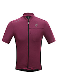 SANTIC® Cycling Jersey Men's Short Sleeve Bike Breathable / Quick Dry / Ultraviolet Resistant / Limits Bacteria T-shirt / Jersey / Tops