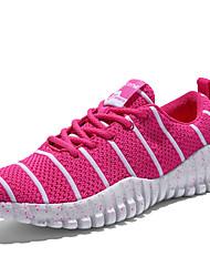 Sapatos Corrida Feminino Preto / Vermelho Tule