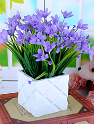 Silk Orchid Artificial Flower Home Decor