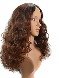 In Europe and the United States Foreign Trade Wig Brown Curly Hair