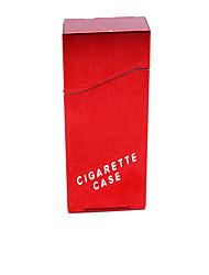 Male Exquisite Decorative Surface Metal Cigarette Case 20 Ms