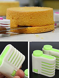 Hot Sale New Cake Pie Slicer Sheet Guide Cutter Server Bread Slice Knife Kitchen Gadget(pair)