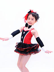 MiDee Children Dance Dancewear Children Girls Dance Dresses Kids Dance Costumes