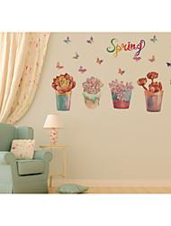 Botanical / Still Life / Florals / Landscape Wall Stickers Plane Wall Stickers,pvc 50*70CM