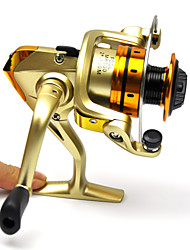 Champagne Metal Carp Fishing Spinning Reel 10BB Interchangeable 5.1:1 MR500