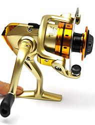 Molinetes Rotativos 5.1:1 10 Rolamentos Trocável Pesca de Mar / Rotação / Pesca de Água Doce / Pesca de Carpa-MR500 FDDL