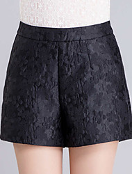 Women's Print Black  Purple Wide Leg Pants,Casual  Day  Simple