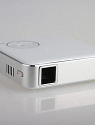 Wireless Dlp Portable Pico Projector for Home Theater with Dual Band Wifi 2.4G/5G Magnasonic LED Pocket Metal