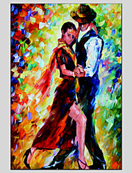 Character Style Canvas Material Oil Paintings With Wooden Stretcher Ready To Hang Size 60*90CM