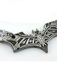 batman bate colgante de collar de cobre película cosplay accesorios