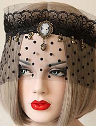 Punk Faction Cosplay Lolita Chiffon Mask