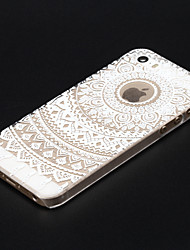 Colorful Flower Painted Pattern Slim Plastic Back Hard Case For iPhone 5S 4.0""