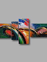 """растянуты (готов повесить) ручная роспись масляной живописи 62 """"x32"""" холст стены искусства современной абстрактной домой декомпрессионной"""