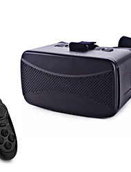 "VR BOX Virtual Reality 3D Glasses + Bluetooth Controller for 4.0~6.0"" Smartphones - Black"