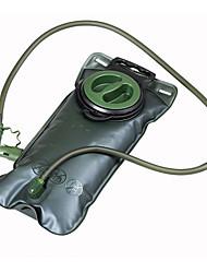 2L  Hydration Pack & Water Bladder Camping & Hiking / Cycling/Bike Outdoor Compact Dark Green TPU