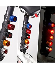 Waterproof Bike Bicycle Cycling Front Rear Tail Helmet Red Flash Lights Safety Warning Lamp