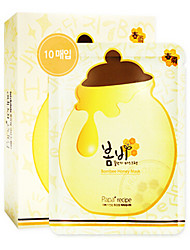 Papa Recipe Wet Moisture/Whitening/Oil-control/Brightening Cloth 10Pcs Mask