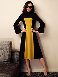 VERRAGEE 2016 In The Spring Of The New Product Cultivate One's Morality Long-sleeved Dress