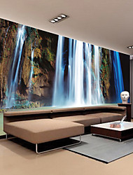 JAMMORY Art Deco Wallpaper Contemporary Wall Covering,Non-woven Paper Large Mural Wallpaper Falls