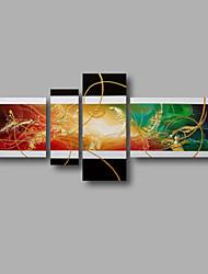 """растянуты (готов повесить) ручная роспись масляной живописи 62 """"x32"""" холст стены искусства современной абстрактной домашний декомпрессию"""
