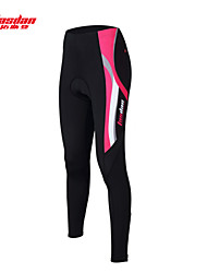 TASDAN Bike/Cycling Pants/Trousers/Overtrousers / Tights Women's Breathable / Quick Dry / 3D Pad / Reflective Strips / Sweat-wicking Nylon