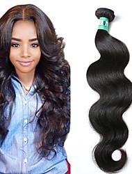 """1 pc / lotto 12 """"-30"""" 5 bis capelli umani vergini brasiliani dell'onda del corpo dei capelli trame di 100% capelli non trattati remy"""