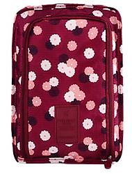Packing OrganizerForTravel Storage Fabric Yellow / White / Blue / Green / Red / Pink 22*20*5cm